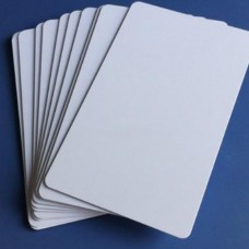 HD iD Printable Blank Inkjet PVC Card 54mm x 86mm